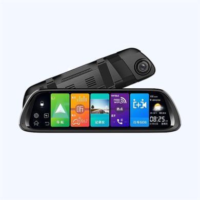 路探 安卓8.1全屏云鏡流媒體行車記錄儀導航聲控藍牙倒車影像音樂WIFI
