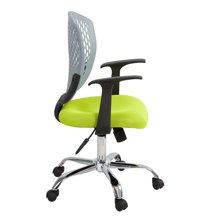 雅客集杰克灰色靠背电脑椅FB-14137 职员大办公椅
