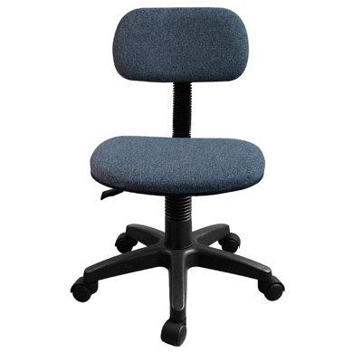 【簡易旋轉靠背辦公椅】雅客集灰色蘭桂電腦椅FB-13071