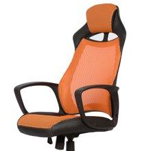 雅客集橙色奥德里奇赛车电脑椅FB-15064OR 家用办公椅 游戏竞技椅
