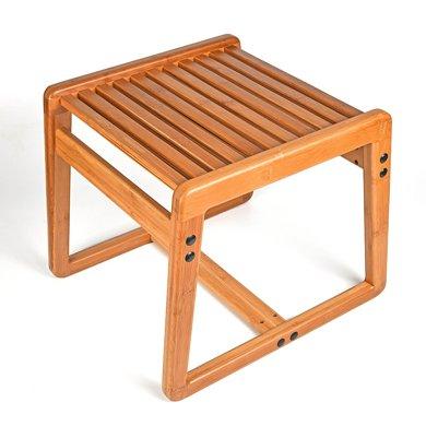祥福 竹凳家居生活可拆卸軟椅