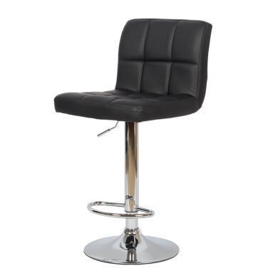 雅客集巴奈特靠背升降旋轉吧椅FB-16071BL 靠背高腳凳 無扶手踏腳電腦椅 吧臺椅 柜臺椅