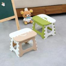 加厚折叠凳子便携手提火车小板凳户外马扎儿童成人家用椅子塑料凳