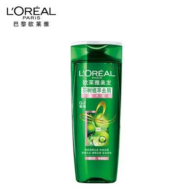 欧莱雅洗发水 茶树植萃去屑舒缓洗发露 洗发水