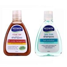 组合*澳洲Redwin天然茶树油洗发水250ML + Redwin?#33322;?#27833;洗发水 250ml【海外直邮】