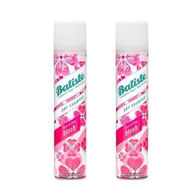 【支持購物卡】【2瓶】英國Batiste碧緹絲頭發免洗噴霧劑 坐月子干洗噴霧200ml 櫻花