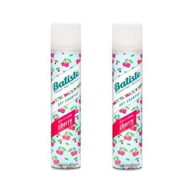 【支持購物卡】【2瓶】英國Batiste碧緹絲頭發免洗噴霧劑 坐月子干洗噴霧200ml 櫻桃
