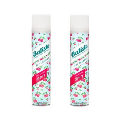 【2瓶】英國Batiste碧緹絲頭發免洗噴霧劑 坐月子干洗噴霧200ml 櫻桃