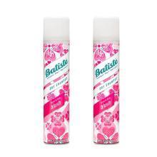 【2瓶】英国Batiste碧缇丝头发免洗喷雾剂 坐月子干洗喷雾200ml 樱花