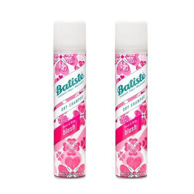 【2瓶】英国Batiste碧缇丝头发免洗喷雾剂 坐月子?#19978;?#21943;雾200ml 樱花