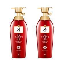2瓶*韩国吕(RYOE) 红吕染烫修复损伤洗发水 400ml/瓶