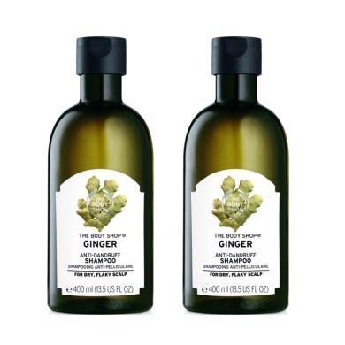 【支持購物卡】【2瓶】英國美體小鋪生姜洗發水400ml/瓶