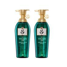 【支持購物卡】2件裝 RYOE/呂 綠呂 舒盈清潤去頭屑洗發水 400ML