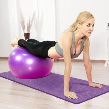 居康瑜伽墊無味初學加長加寬瑜伽防滑墊健身墊多功能運動加厚加寬