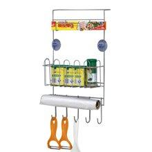 雅客集多功能冰箱侧挂架ML-14074 厨房层架整理加 调料架