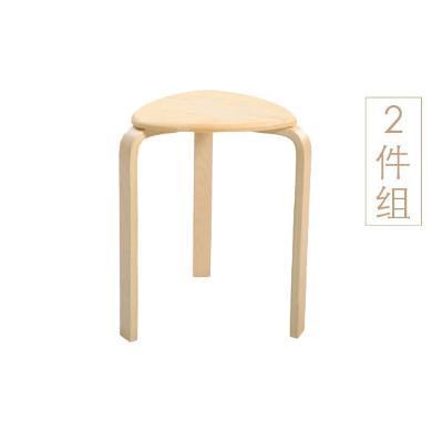 家立佳(Familove) 實木凳2個裝 5030