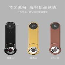 SAFOR/赛福指纹锁全自动防盗门智能锁 防猫眼开锁家用大门指纹锁