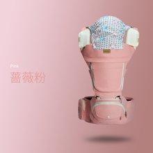 抱抱熊腰凳婴儿背带多功能四季通用 坐凳宝宝背带前抱式抱娃神器     αX23