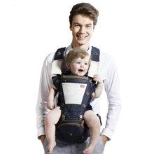 抱抱熊纯棉宝宝透气腰凳多功能儿童背带  c08