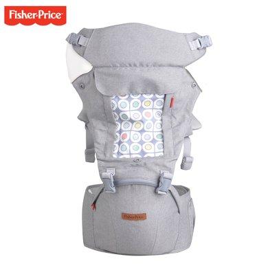 美國FisherPrice費雪腰凳背帶四季多功能嬰兒通用3-36個月前抱式輕便新生兒兒童FP001