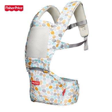 美國Fisher-Price費雪腰凳背帶四季多功能嬰兒通用前抱式輕便新生兒兒童腰凳 FP-008