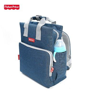 美國FisherPrice費雪媽咪包 防水加厚袋雙肩可拎媽媽旅游出行背包FP-005