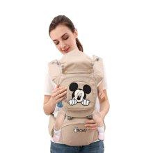 迪士尼腰凳背帶四季多功能 嬰兒 通用雙肩輕便透氣寶寶抱帶坐凳D02