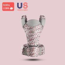 babycare多功能婴儿背带 前抱式新生儿宝宝坐凳 四季透气婴儿腰凳