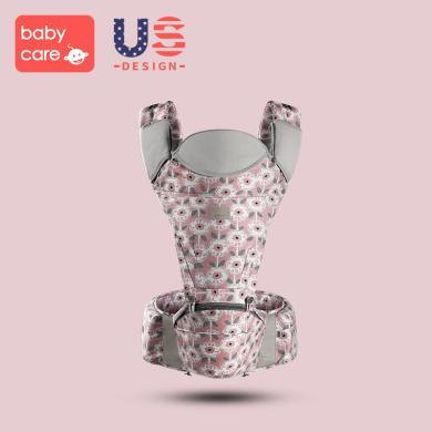 babycare多功能嬰兒背帶 前抱式新生兒寶寶坐凳 四季透氣嬰兒腰凳