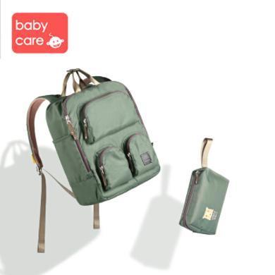 babycare妈咪包新款 时尚多功能大容量母婴包 外出双肩背包女 3060妈咪包