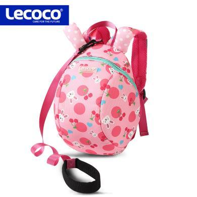 lecoco宝宝防走失包1-3岁男童幼儿园书包女孩双肩背包儿童小包包