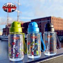 英国品牌喜格儿 Hugger儿童吸管水杯宝宝吸管水壶卡通带提绳
