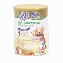 双熊胡萝卜蔬菜配方奶米粉(528G)