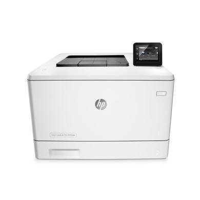 惠普 M452dw 彩色激光打印機 A4 (打印、有線網絡、無線網絡、雙面)(M452dw)