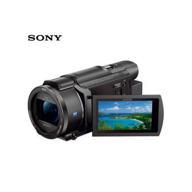 索尼(SONY)FDR-AX60家用 直播4K高清數碼攝像機  5軸防抖 約20倍光學變焦(送128G高速卡+原電+(FDR-AX60)