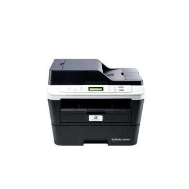 柯尼卡美能達(KONICA MINOLTA)bizhub 3000MF A4 黑白激光一體機 30頁 分 打印復印掃描(3000MF)