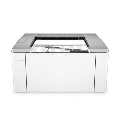 惠普(HP) LaserJet Pro M106w黑白激光打印機(M106w)
