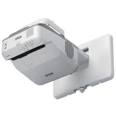 愛普生CB-695WI投影機超短焦投影儀(3500流明 分辨率1280×800 贈送基礎布線及安裝)(CB-695WI)