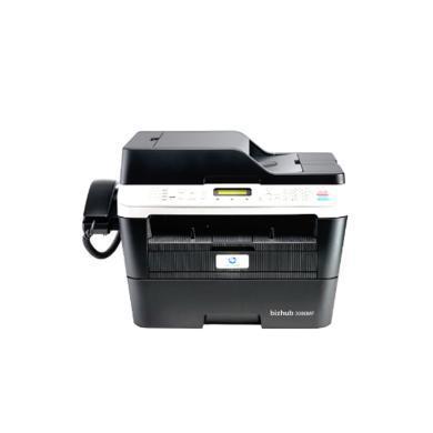 柯尼卡美能達(KONICA MINOLTA)bizhub 3080MF A4黑白激光一體機 30頁 分 打印復印掃描傳真(3080MF)