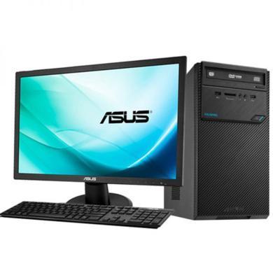 华硕(ASUS)D320MT 台式电脑i5-7400 8G 1T DRW 23.8寸带鼠键 3年上门 WIN10(D320MT)