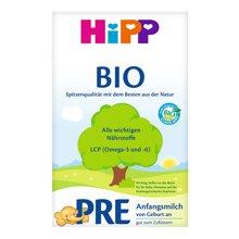 【2盒装】德国喜宝Hipp Bio有机新生儿奶粉Pre段(600g)