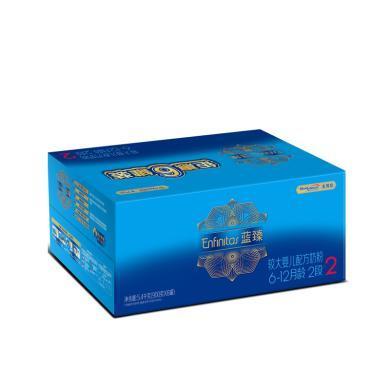 美赞臣蓝臻较大婴儿配方奶粉(6-12月龄.2段)900克6罐整箱装(5400g)
