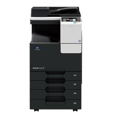 柯尼卡美能达bizhub.C7226彩色数码A3复印机多功能打印一体机复合机+三年保修(C7226)