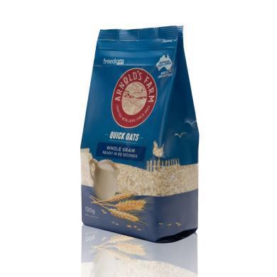 澳諾滋農場90秒快熟純燕麥片(700g)
