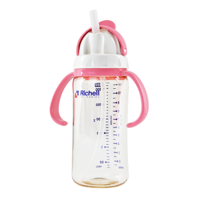 利其爾 PPSU吸管杯粉紅)(320ml)