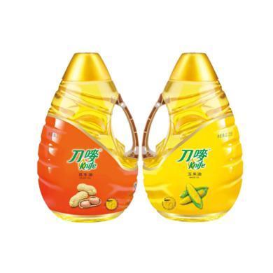 2.2L刀嘜壓榨花生油+2.2L刀嘜玉米油(2.2L+2.2L)