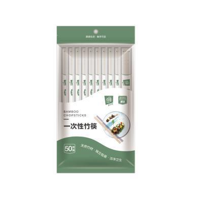 菲爾芙一次性竹筷(200*¢5.5mm)