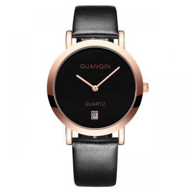 冠琴手表正品2020新款情侣手表对表时尚潮流简约女表皮带防水男士手表
