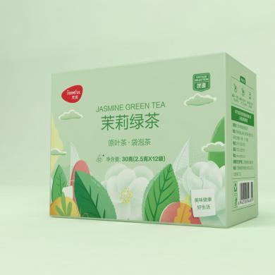 天優茉莉綠茶(30g*(2.5g*12))
