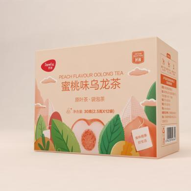 天優蜜桃味烏龍茶(30克(2.5克x12))